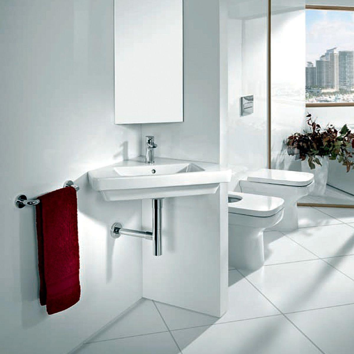 roca dama n corner bathroom basin uk bathrooms