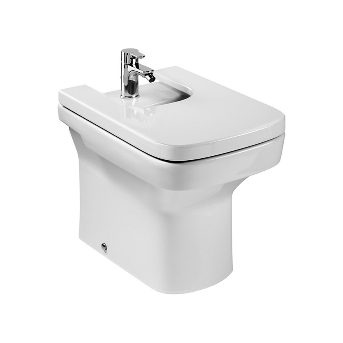 Roca dama n fully back to wall bathroom bidet uk bathrooms for Roca dama toilet