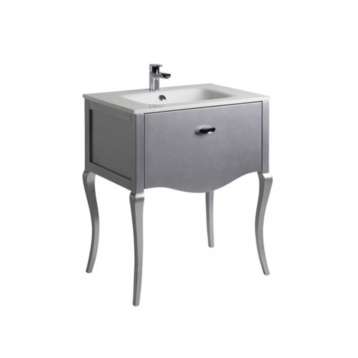 Roper rhodes provence 700mm silver basin and unit for Bathroom furniture 700mm