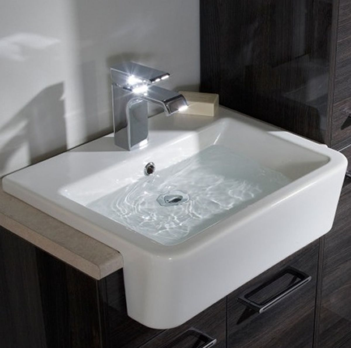 roper rhodes geo semi countertop basin uk bathrooms. Black Bedroom Furniture Sets. Home Design Ideas
