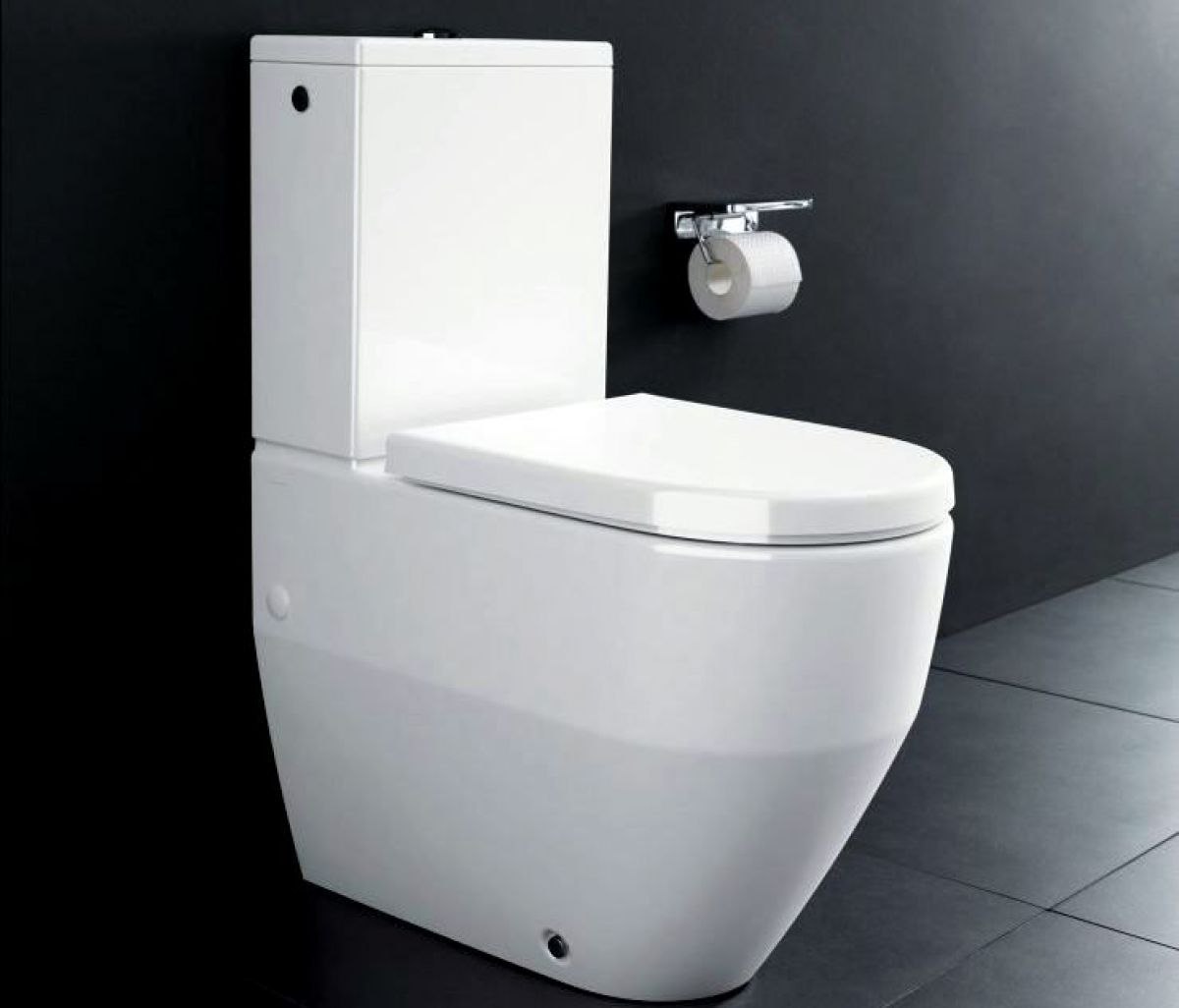 laufen pro close coupled fully back to wall toilet uk bathrooms. Black Bedroom Furniture Sets. Home Design Ideas