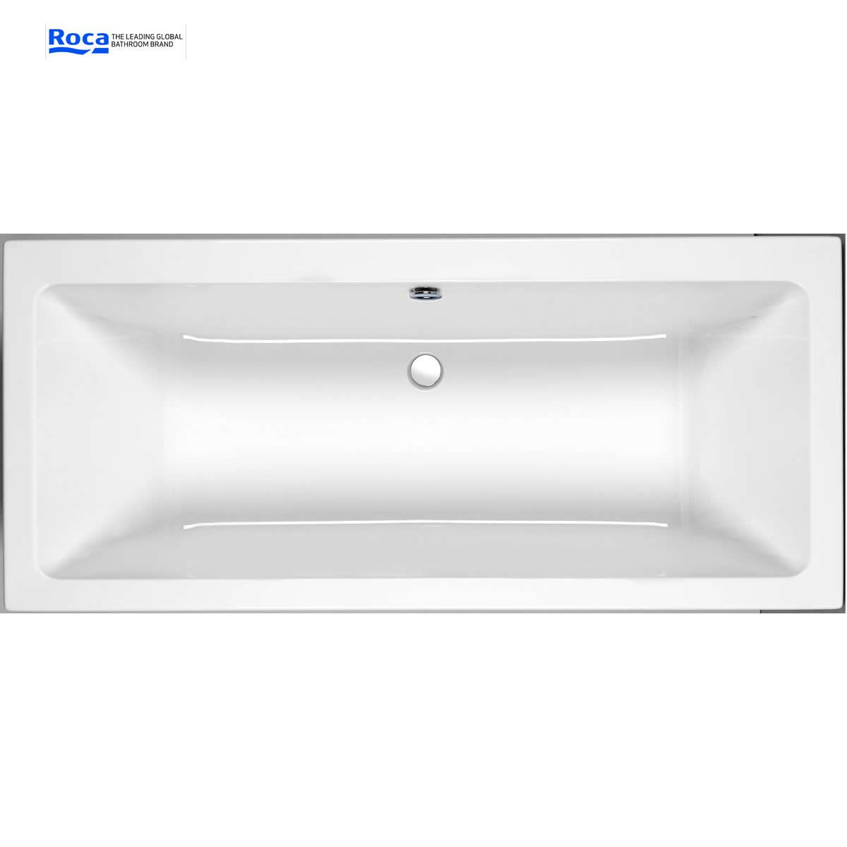 Roca The Gap Double Ended Bath Uk Bathrooms