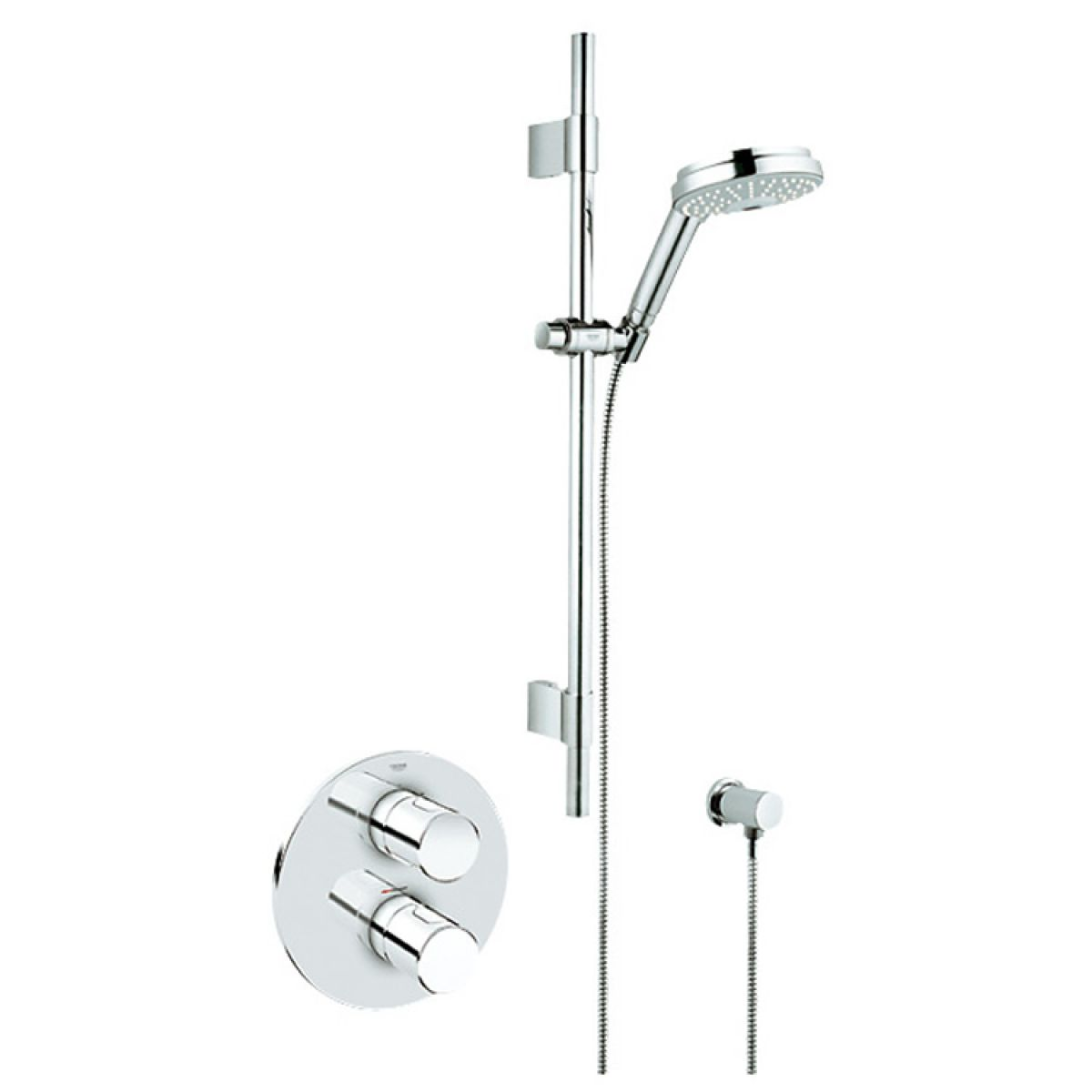 Grohe Grohmaster G3000 Cosmo BIV Concealed Shower Kit : UK Bathrooms
