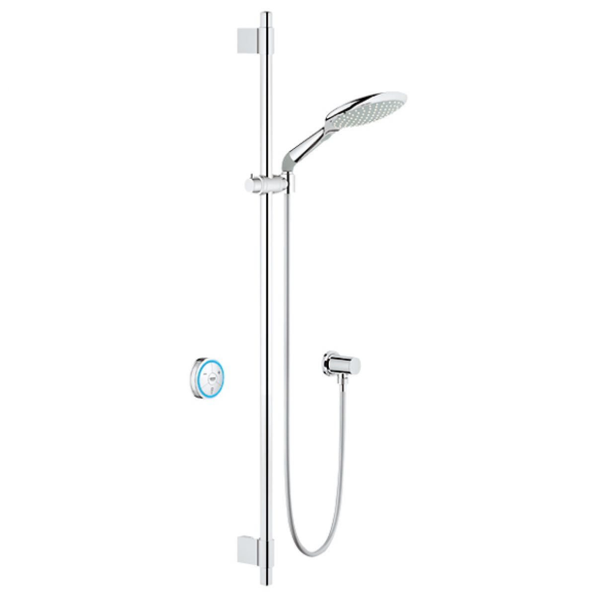 grohe f digital rainshower solo digital shower set biv. Black Bedroom Furniture Sets. Home Design Ideas