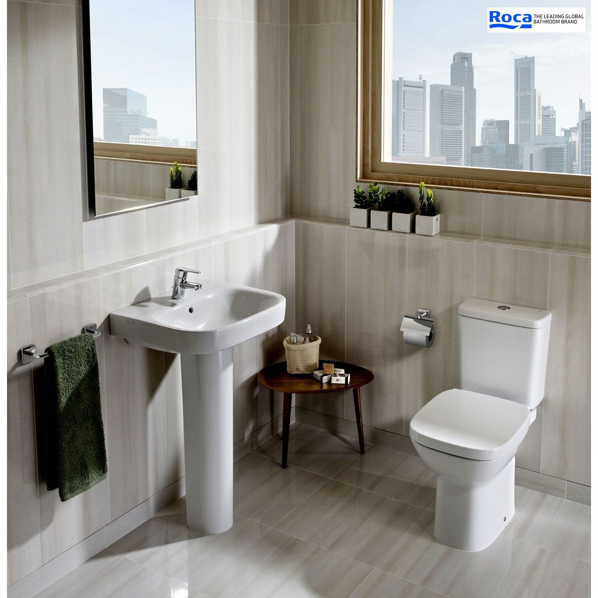Roca Debba Open Back Eco Close Coupled Toilet Uk Bathrooms
