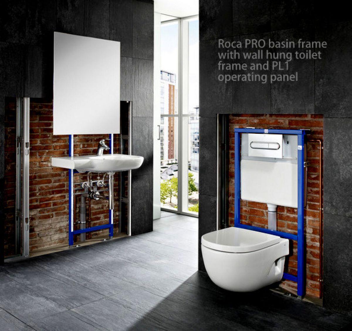 Roca Pro Basin Support Frame Uk Bathrooms
