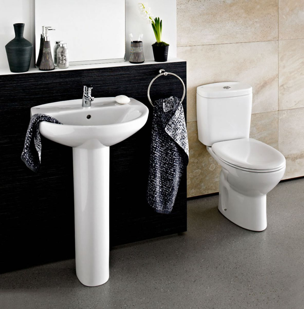 Roca Bathroom Accessories Roca Laura Eco Bathroom In A Box Uk Bathrooms