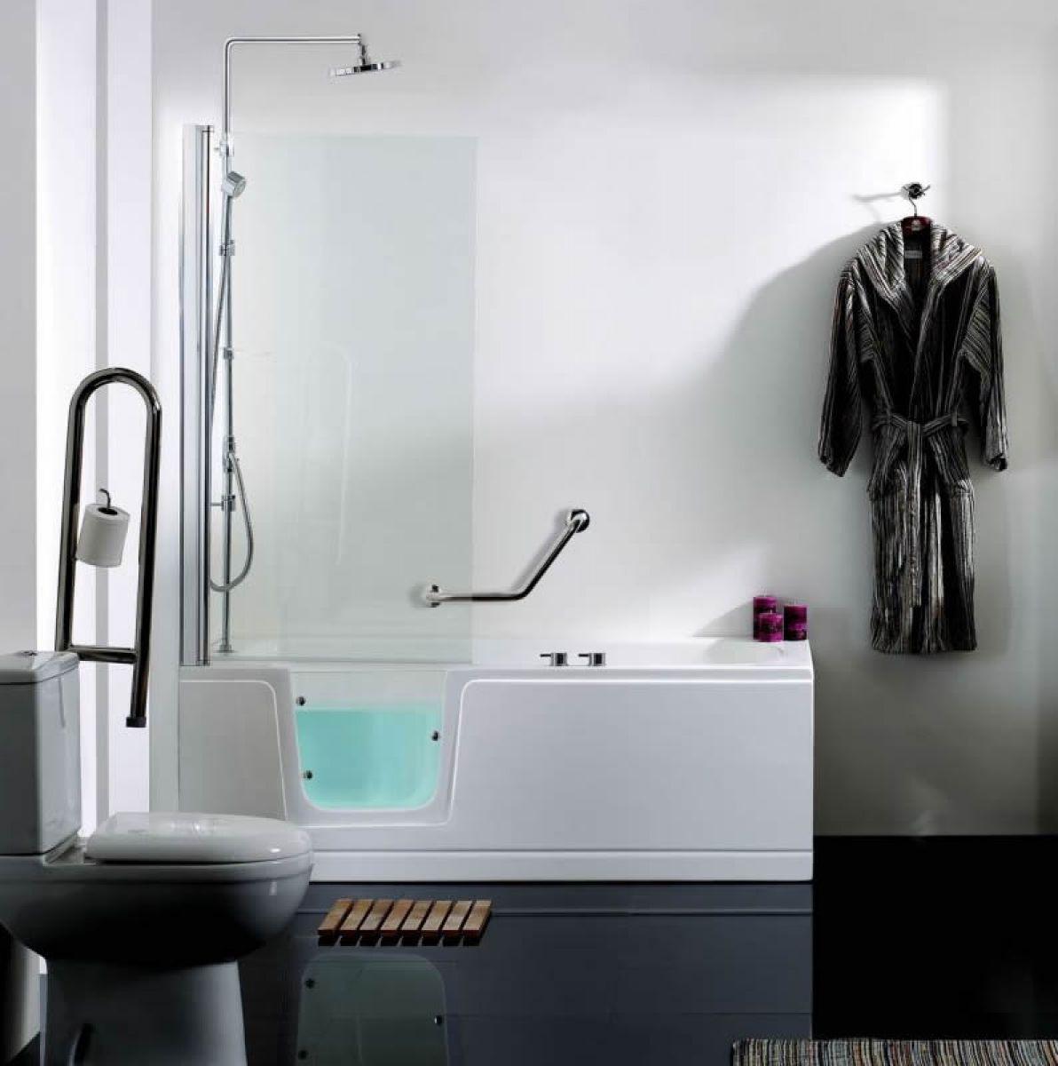 Walk In Showers Uk Part - 17: Phoenix Ambulant Comfort Walk-In Shower Bath Package