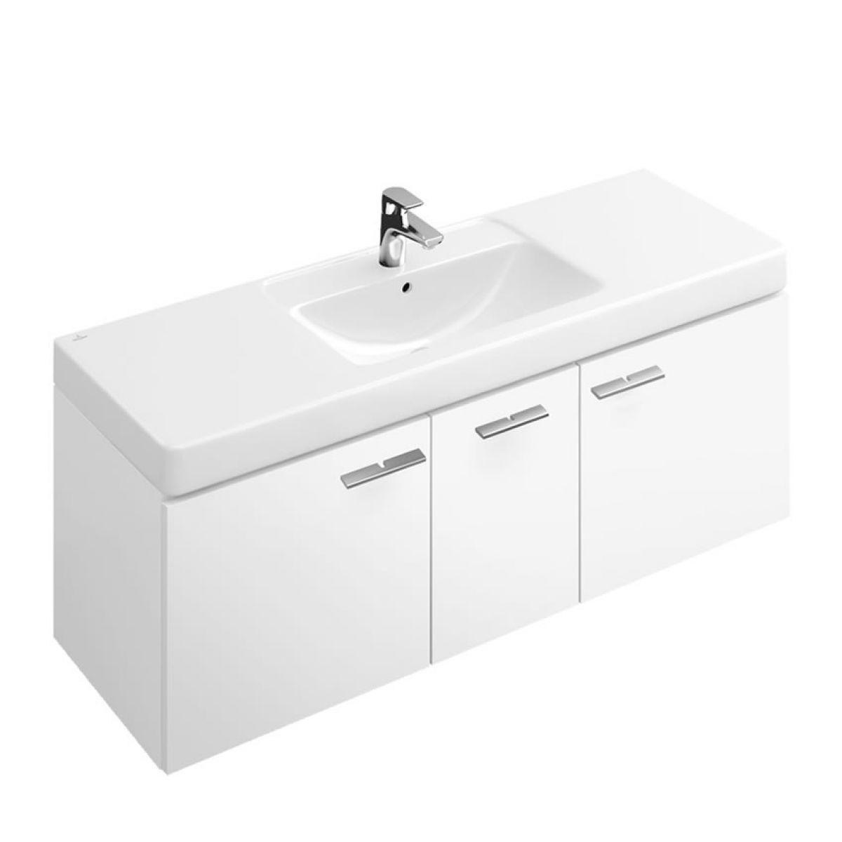 Villeroy and boch central line vanity unit 9866 uk bathrooms for Villeroy and boch bathroom vanity units