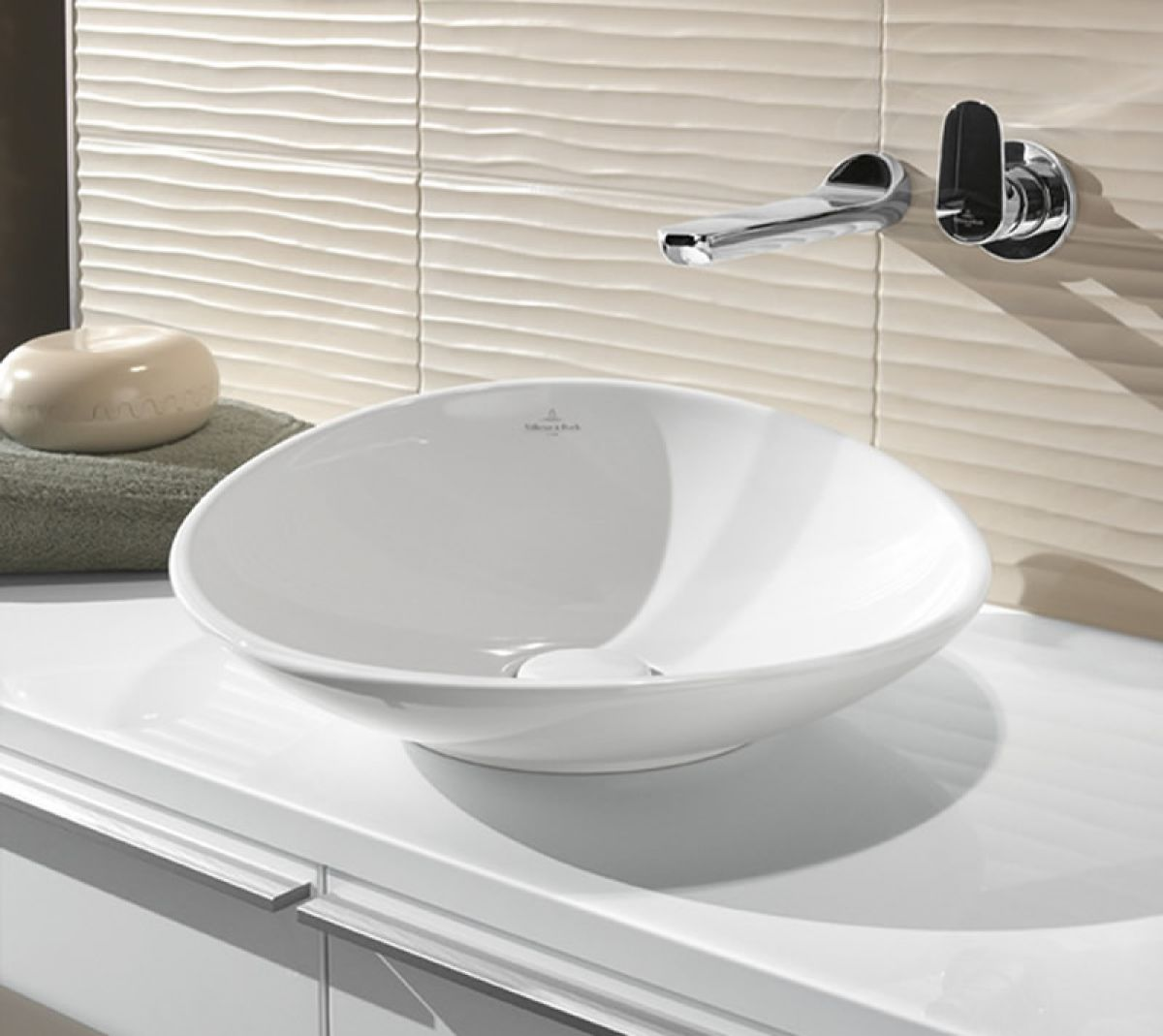 villeroy boch my nature surface mounted basin uk bathrooms. Black Bedroom Furniture Sets. Home Design Ideas