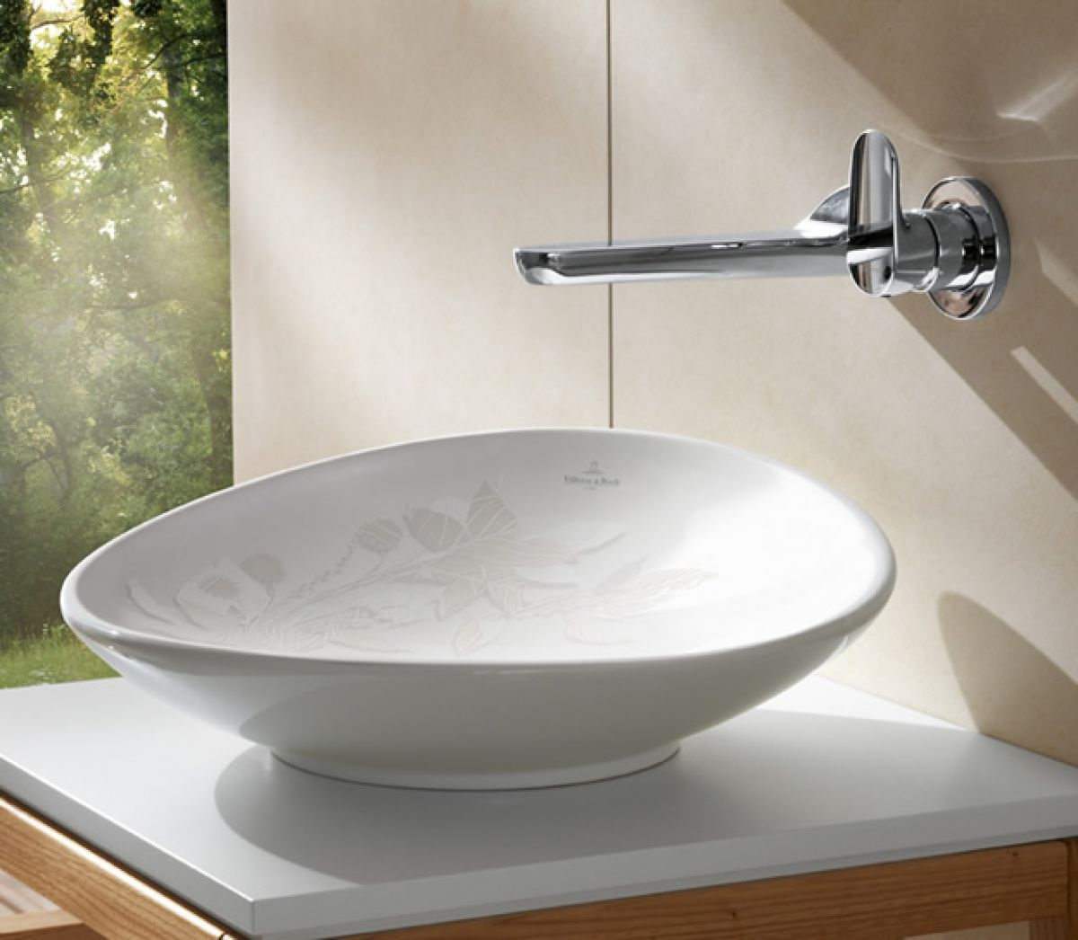 Villeroy and boch bathroom sink -  Villeroy Boch My Nature Surface Mounted Basin