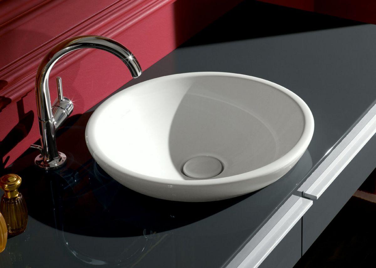 v b loop friends circular semi surface mounted washbasin uk bathrooms. Black Bedroom Furniture Sets. Home Design Ideas