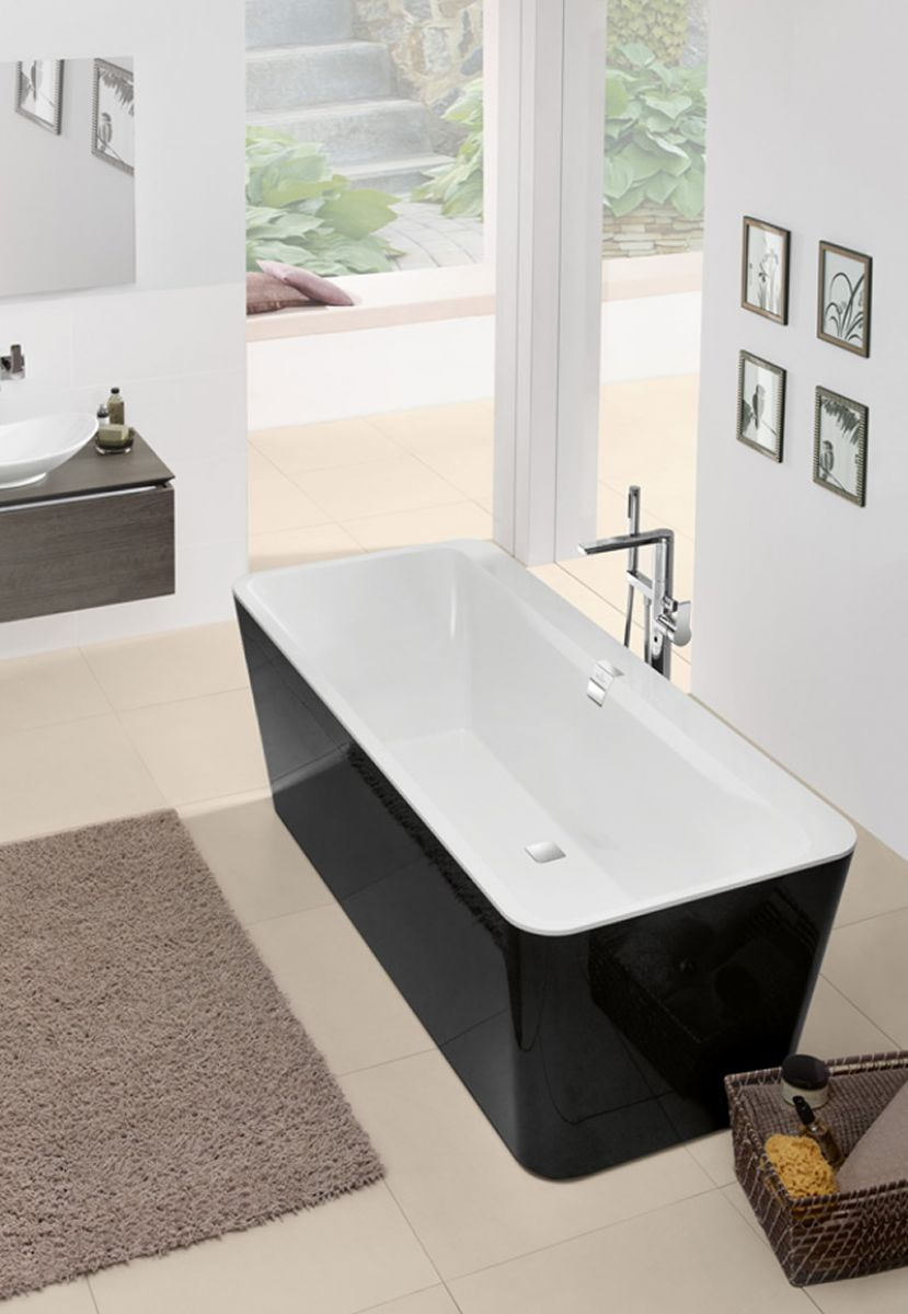 v b squaro edge 12 freestanding bath uk bathrooms. Black Bedroom Furniture Sets. Home Design Ideas