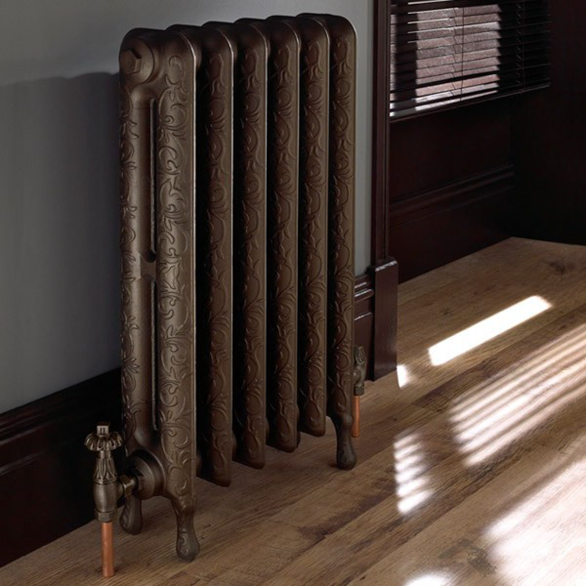 Imperial Tumba Cast Iron Radiator 6 Bar Uk Bathrooms