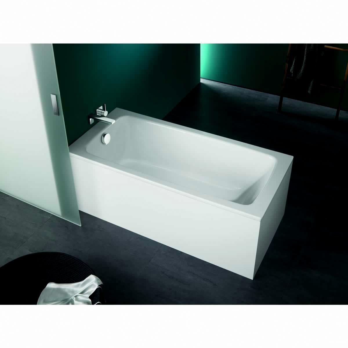 Kaldewei cayono luxury steel bath uk bathrooms for Bath 1200