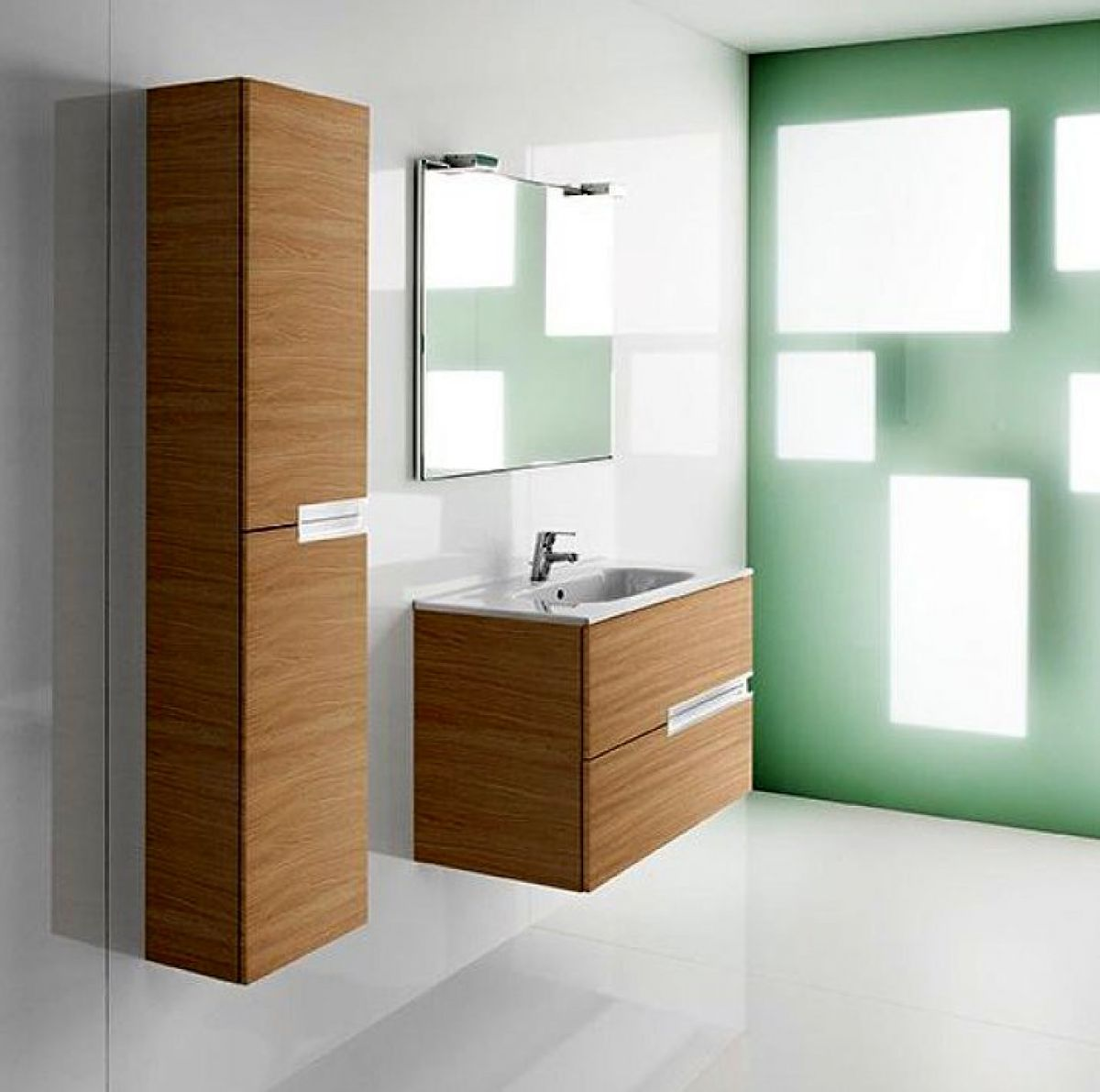 Roca victoria n tall column unit uk bathrooms for Mueble unik victoria