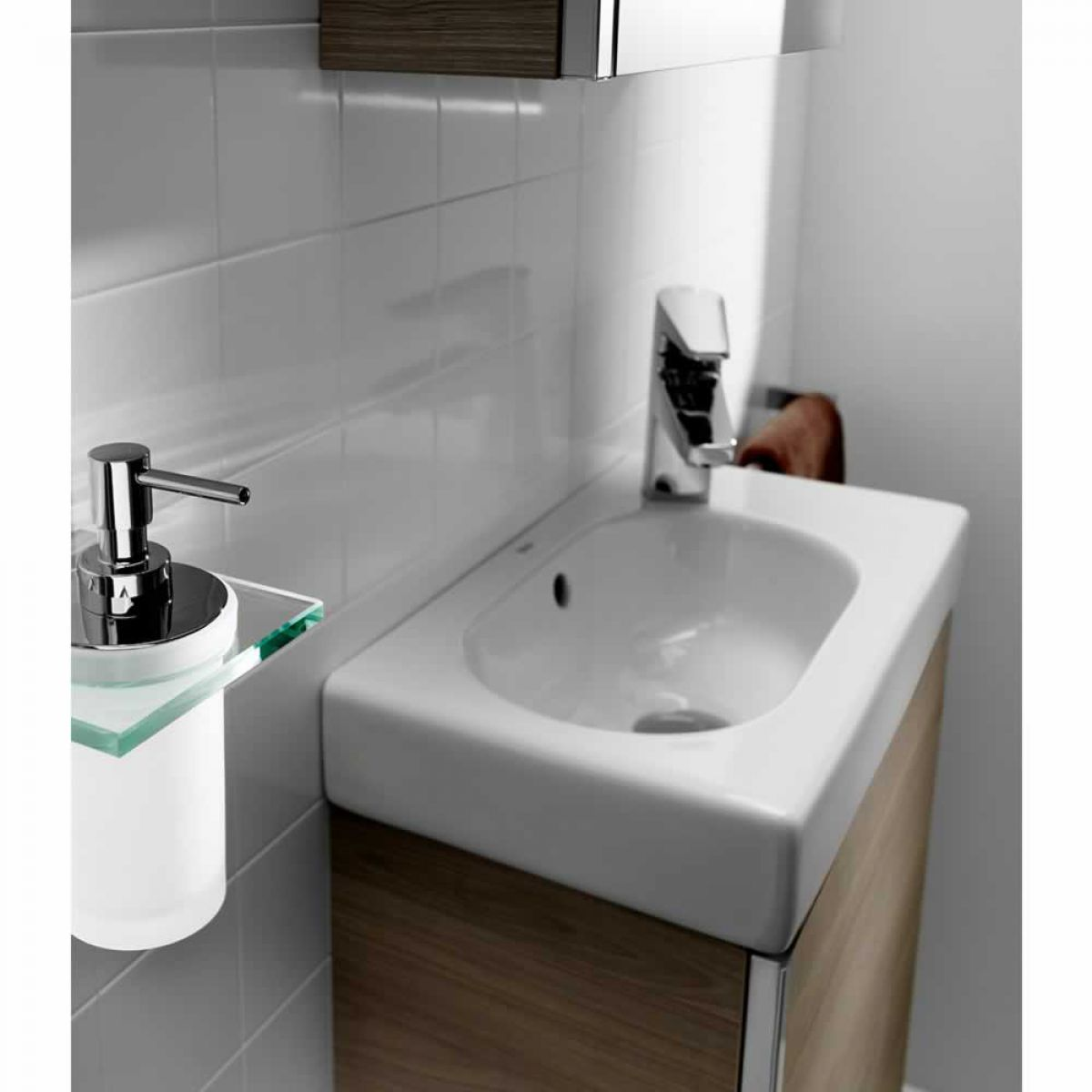 roca bathroom cabinets roca mini vanity unit with mirrored cabinet uk bathrooms 25596