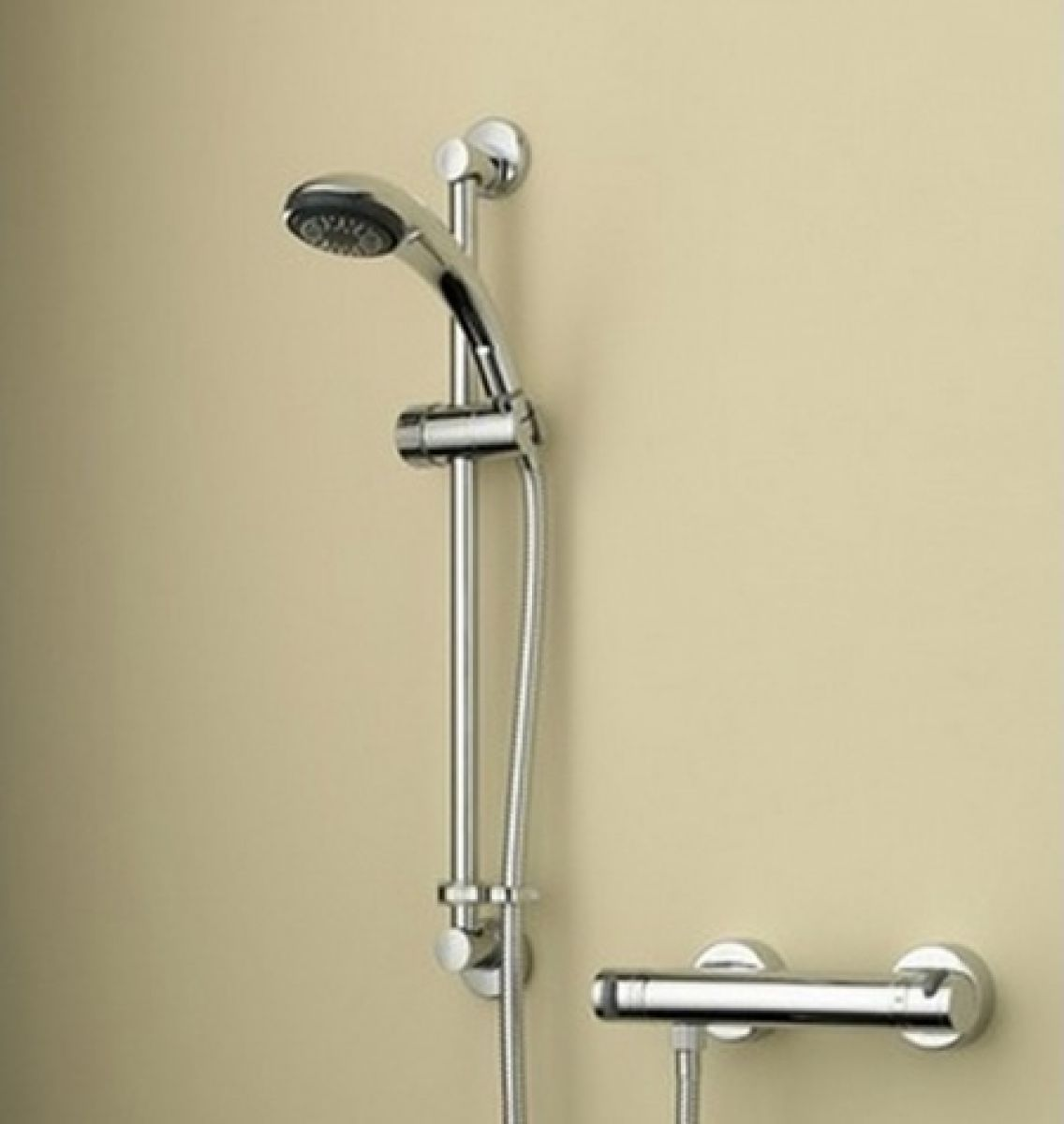 Bristan Artisan Thermostatic Surface Mounted Bar Shower Valve and ...