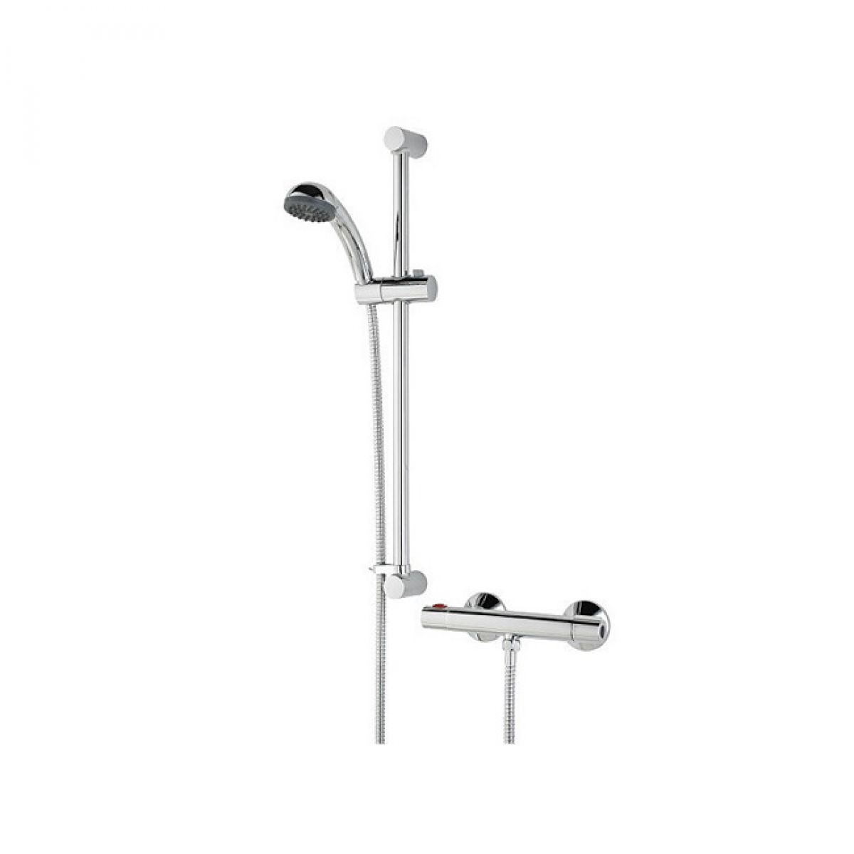 Bristan Zing Cool Touch Bar Mixer Shower Valve with Shower Kit : UK ...