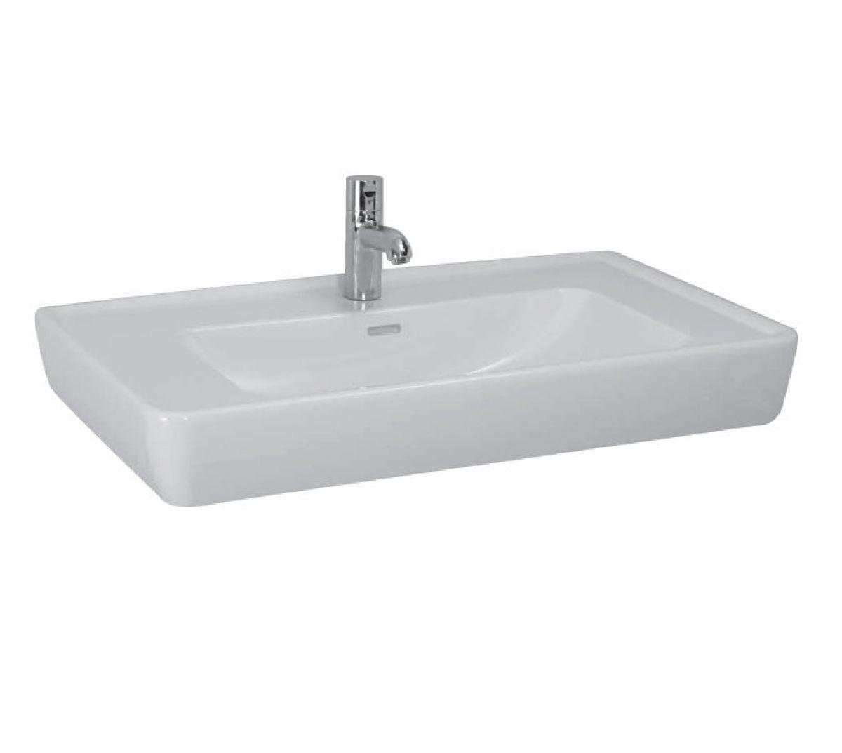 laufen pro a basin half pedestal uk bathrooms. Black Bedroom Furniture Sets. Home Design Ideas
