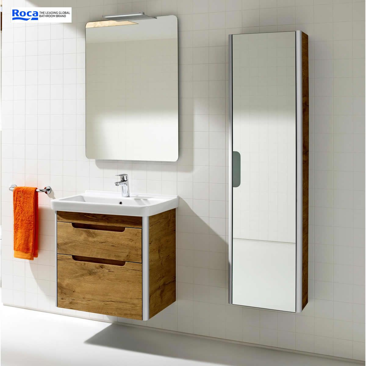 roca bathroom cabinets roca dama n mirror column unit uk bathrooms 25596