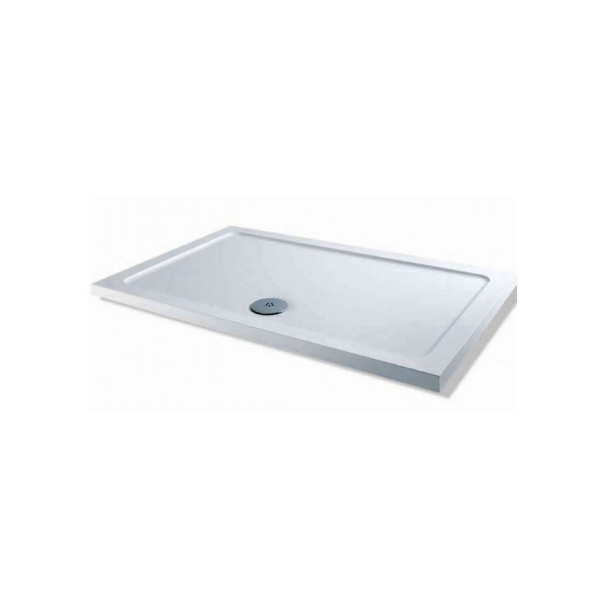 mx durastone rectangle shower tray small