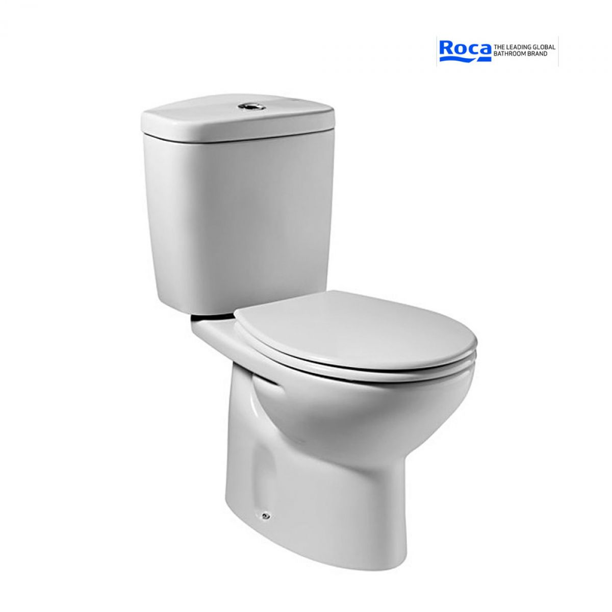 roca laura close coupled toilet uk bathrooms. Black Bedroom Furniture Sets. Home Design Ideas