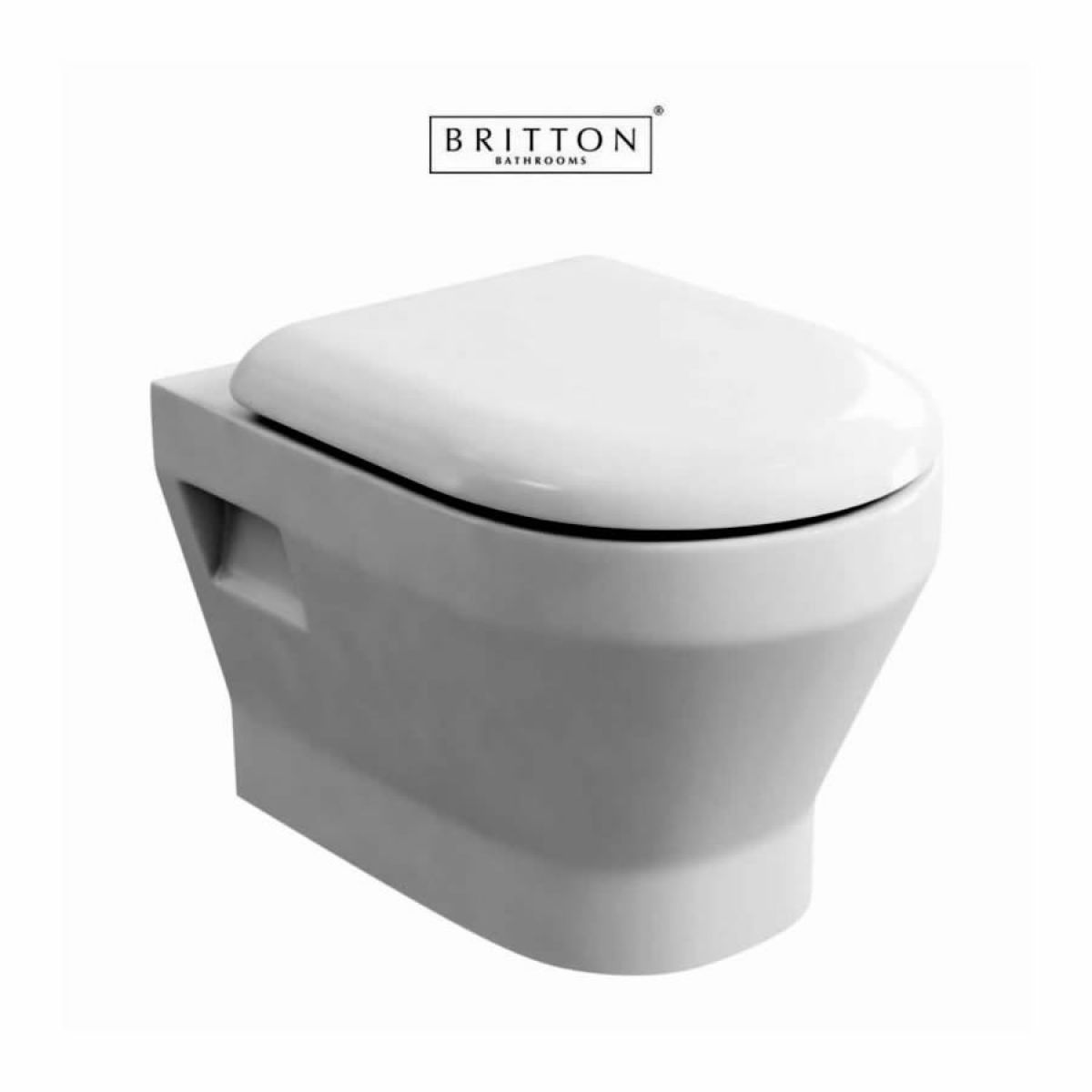 britton curve s30 wall hung toilet - Wall Hung Toilet