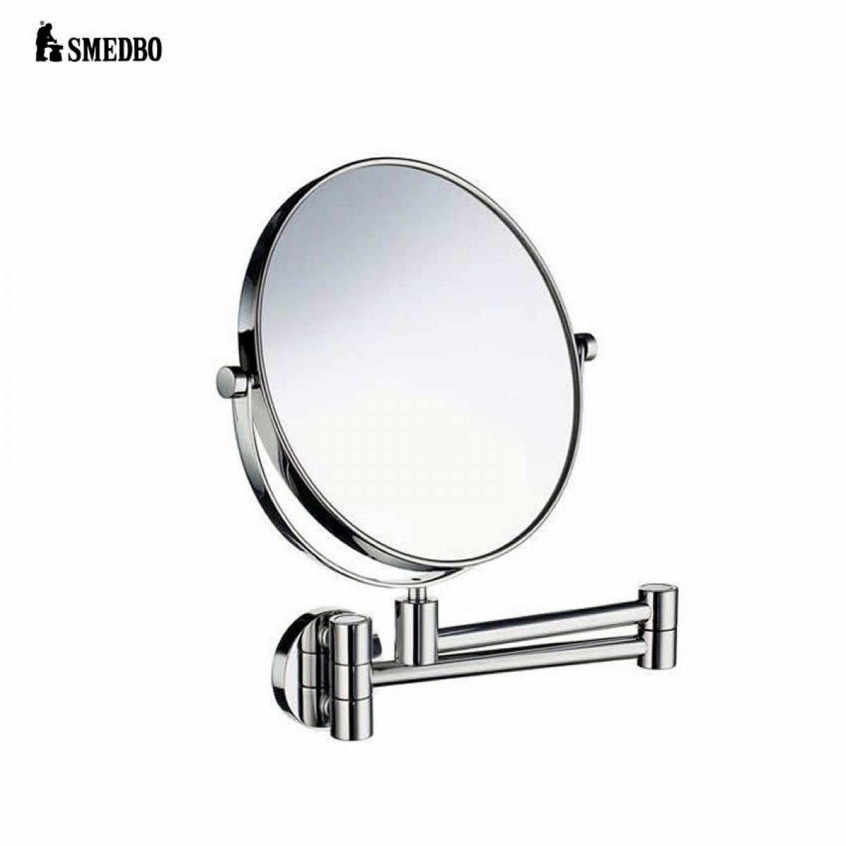 Smedbo Outline Swing Arm Shaving Make Up Mirror Uk Bathrooms