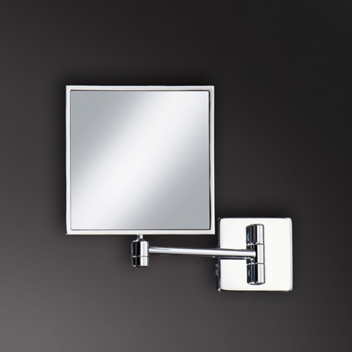 Wall Mounted Magnifying Mirrors For Bathrooms Brass Finish Wall Mounted Bathroom Two Sides