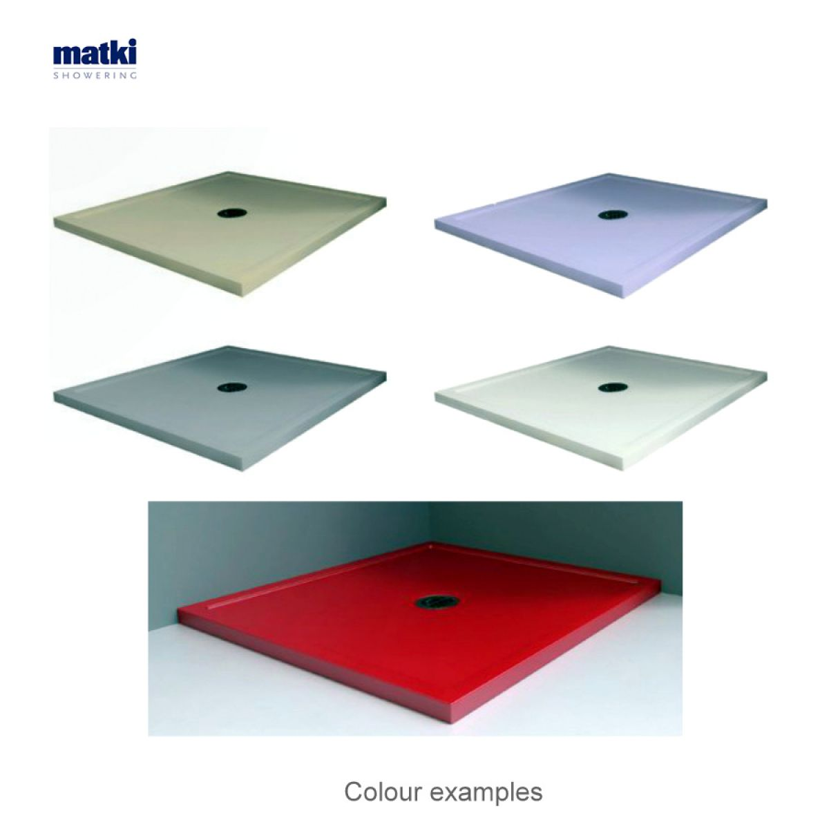 matki universal 40 colour shower trays