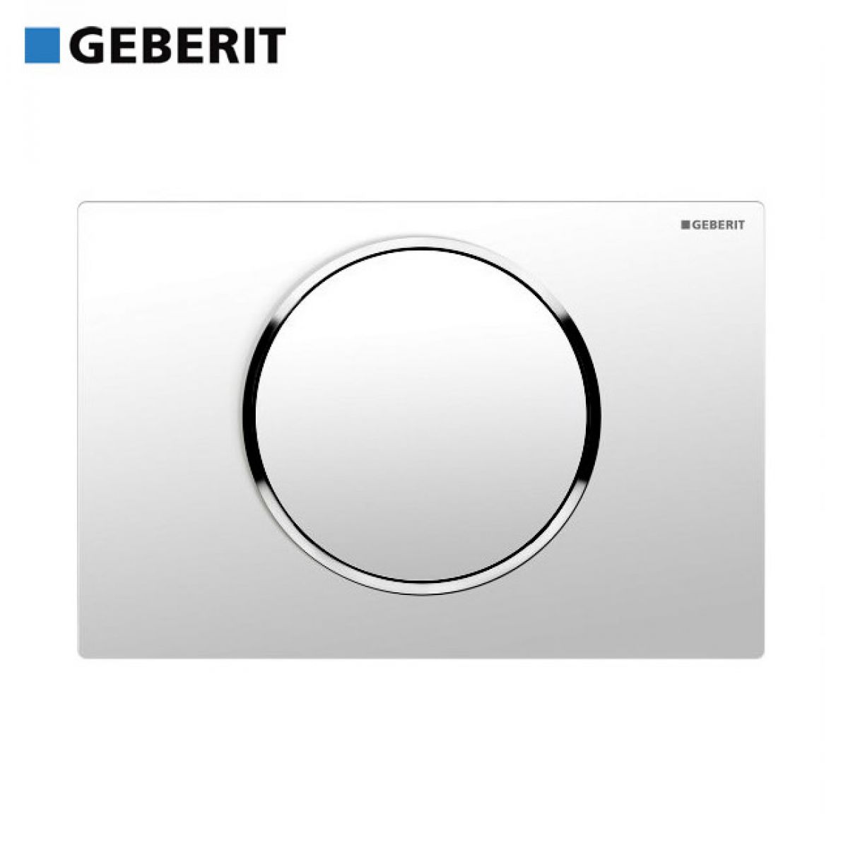 Geberit sigma 10 single flush cistern plate uk bathrooms for Geberit flush