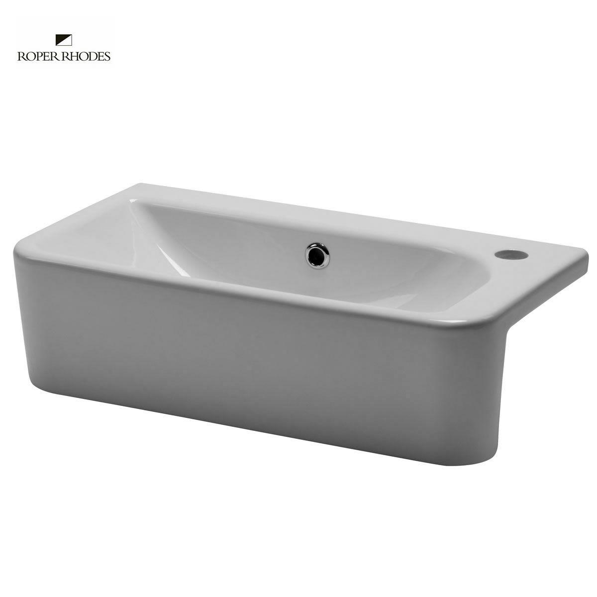 Roper Rhodes Geo Slim Depth Semi-countertop Basin : UK Bathrooms