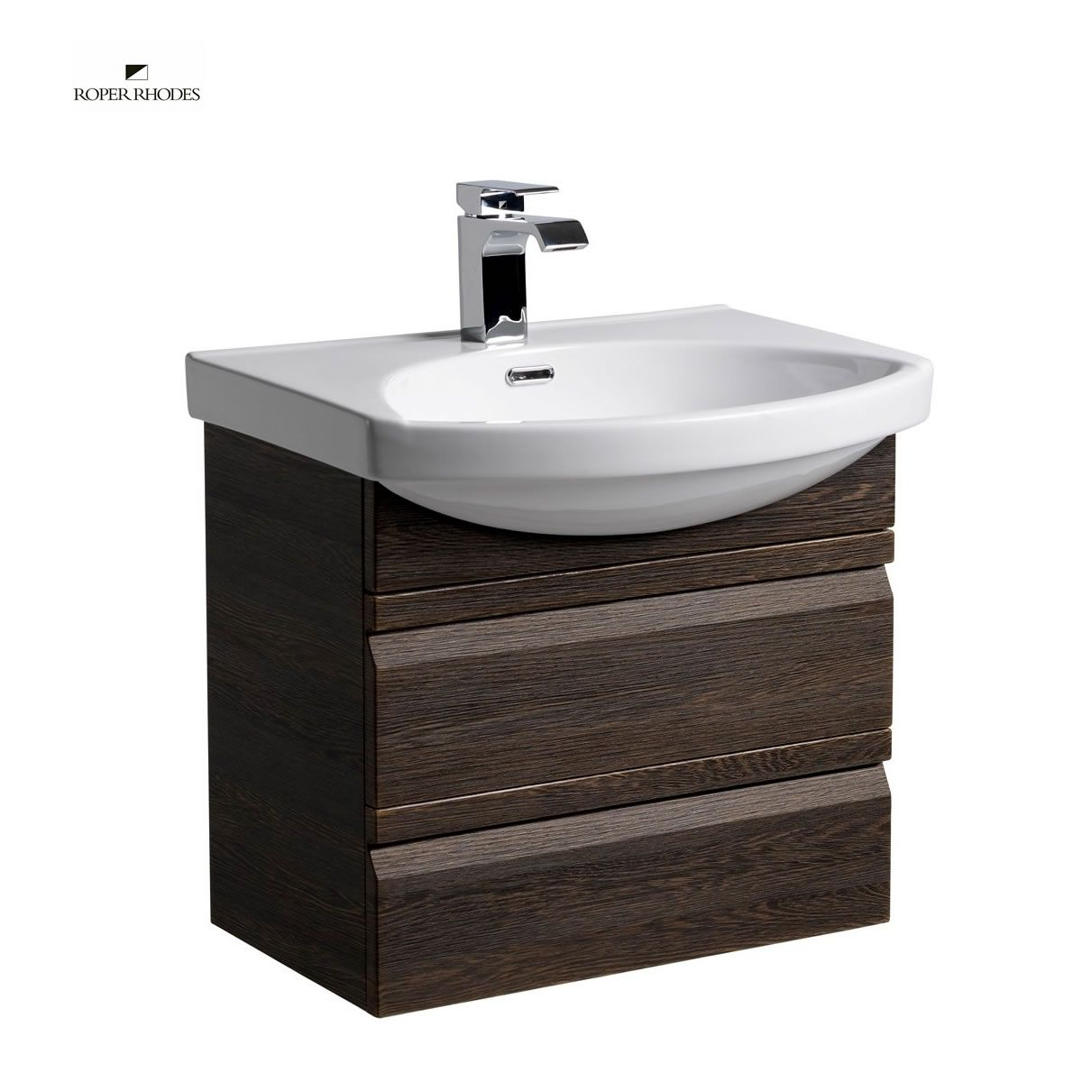 Roper Rhodes Profile 600mm Wall Hung Vanity Unit with Basin : UK ...