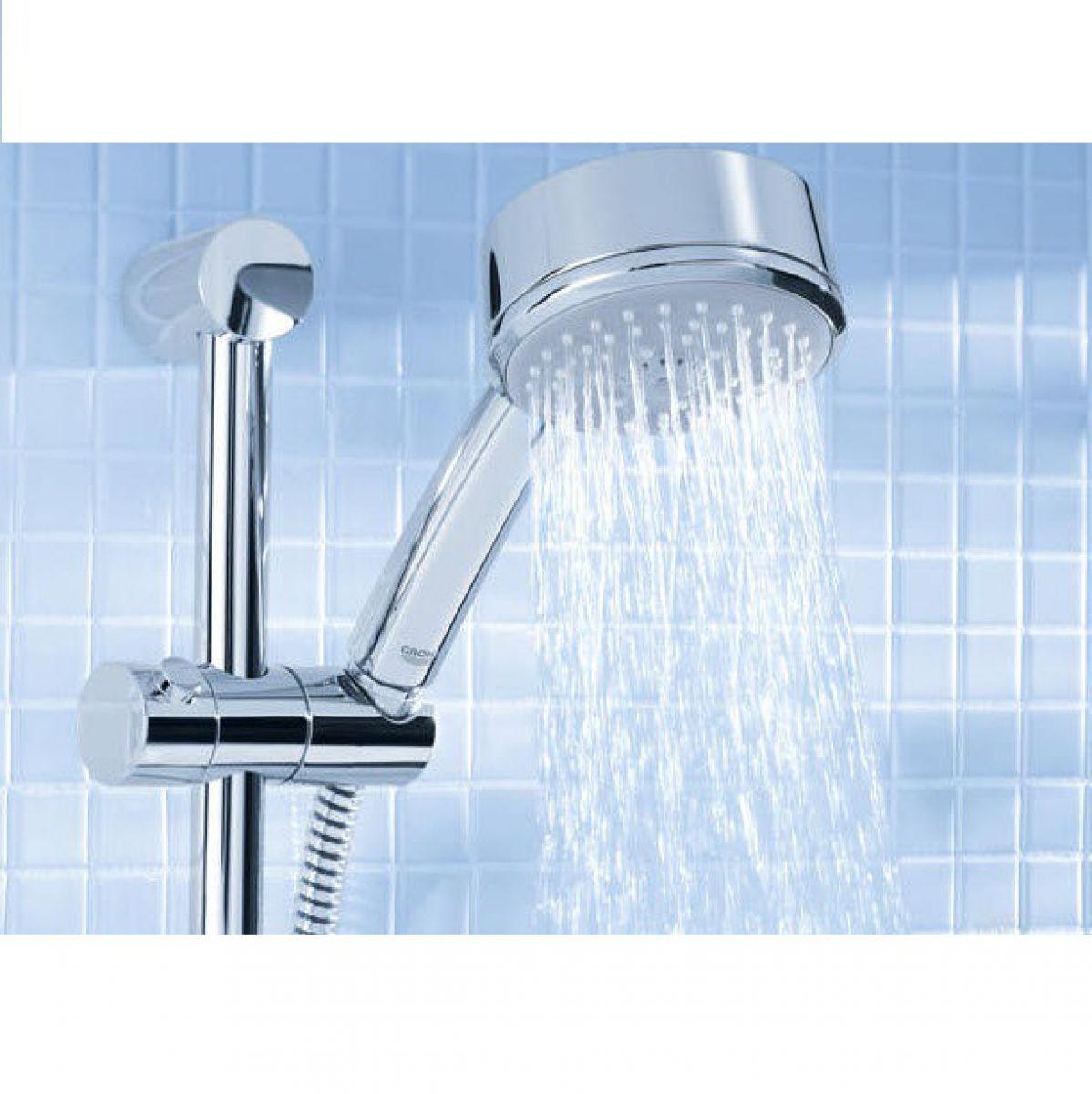 grohe tempesta cosmopolitan 100 shower set uk bathrooms. Black Bedroom Furniture Sets. Home Design Ideas