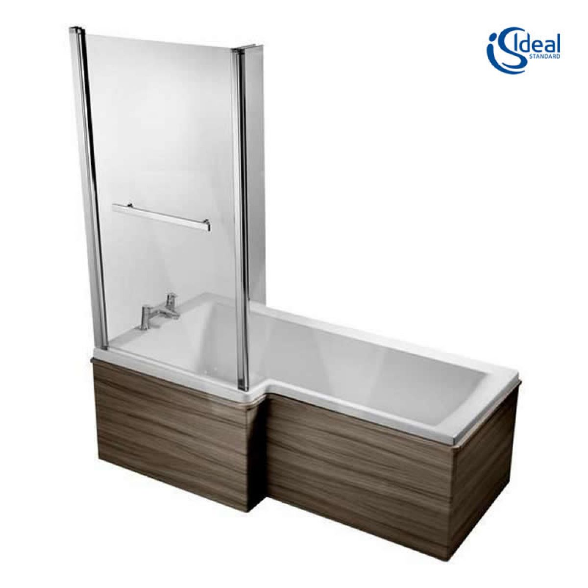 ideal standard concept space 1700mm square shower bath