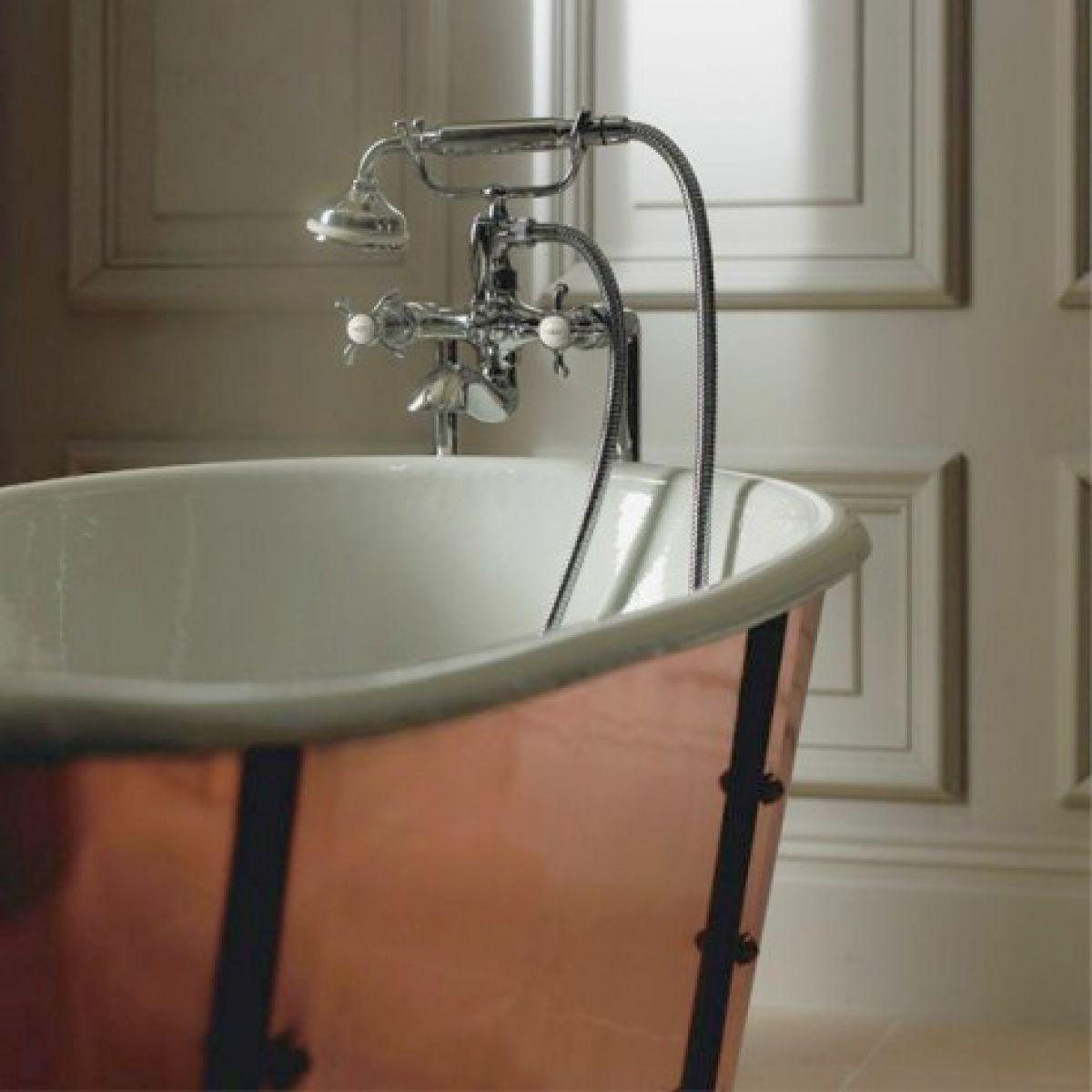 Imperial Baglioni Cobra Cast Iron Bath : UK Bathrooms