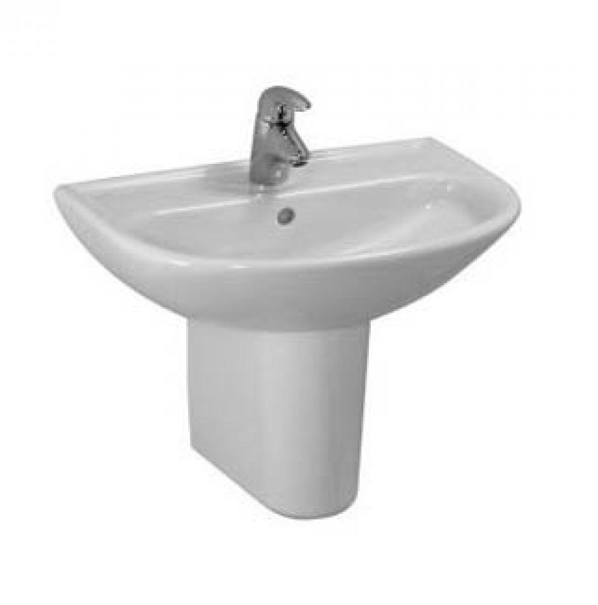 laufen pro c basin half pedestal uk bathrooms. Black Bedroom Furniture Sets. Home Design Ideas