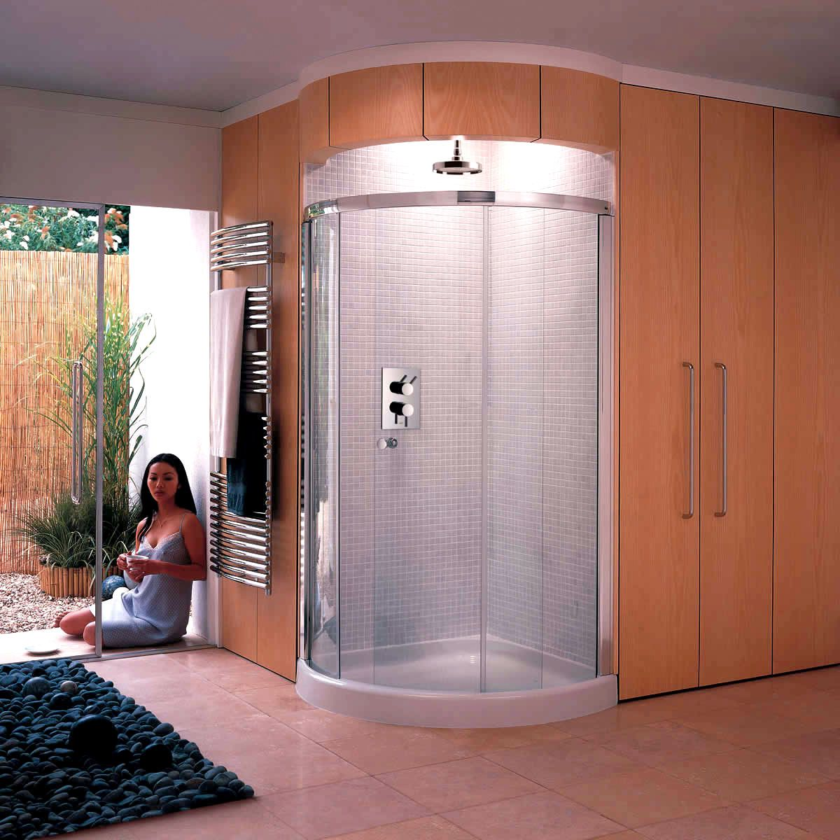 Curved Shower Enclosures Uk