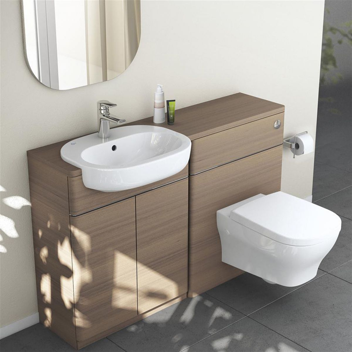 Simple Bathroom Worktops  Bathroom Furniture  Wickescouk