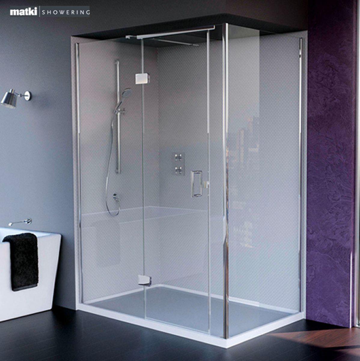 Matki New Illusion Corner Shower Enclosure With Tray Uk
