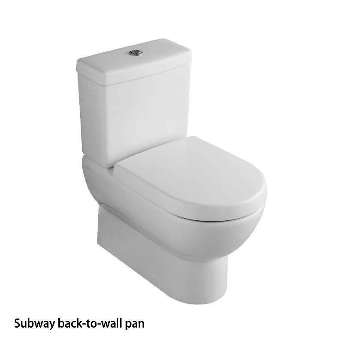 villeroy boch subway close coupled toilet uk bathrooms. Black Bedroom Furniture Sets. Home Design Ideas