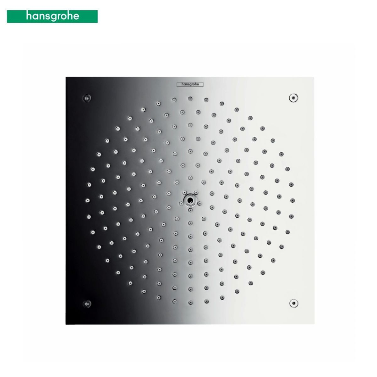 hansgrohe raindance air overhead shower 260 x 260mm uk bathrooms. Black Bedroom Furniture Sets. Home Design Ideas