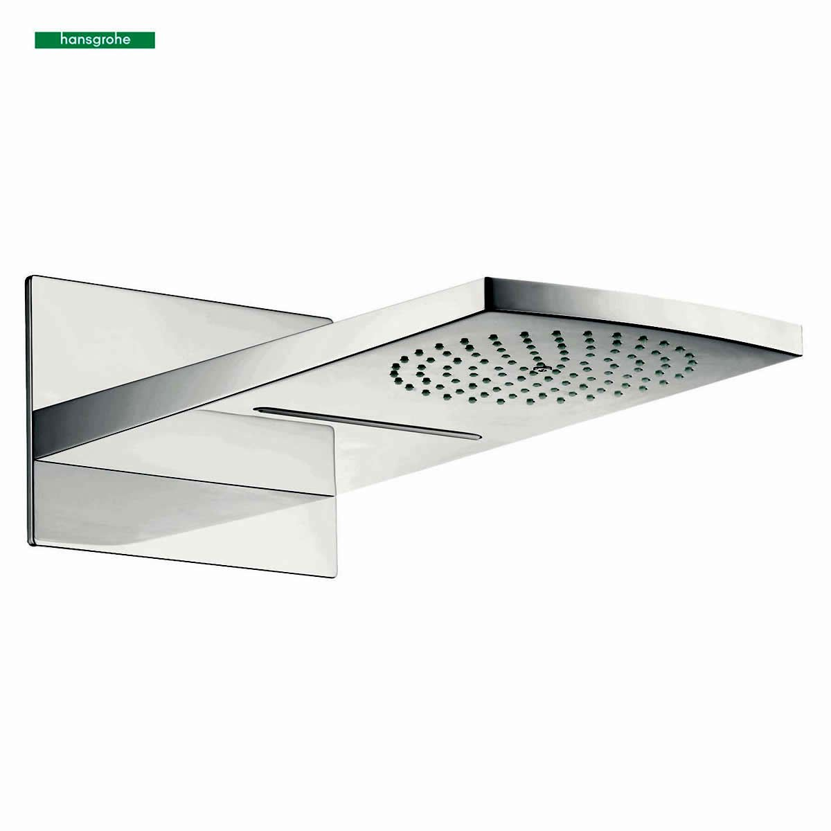 hansgrohe raindance rainfall 180 air 2jet overhead shower. Black Bedroom Furniture Sets. Home Design Ideas