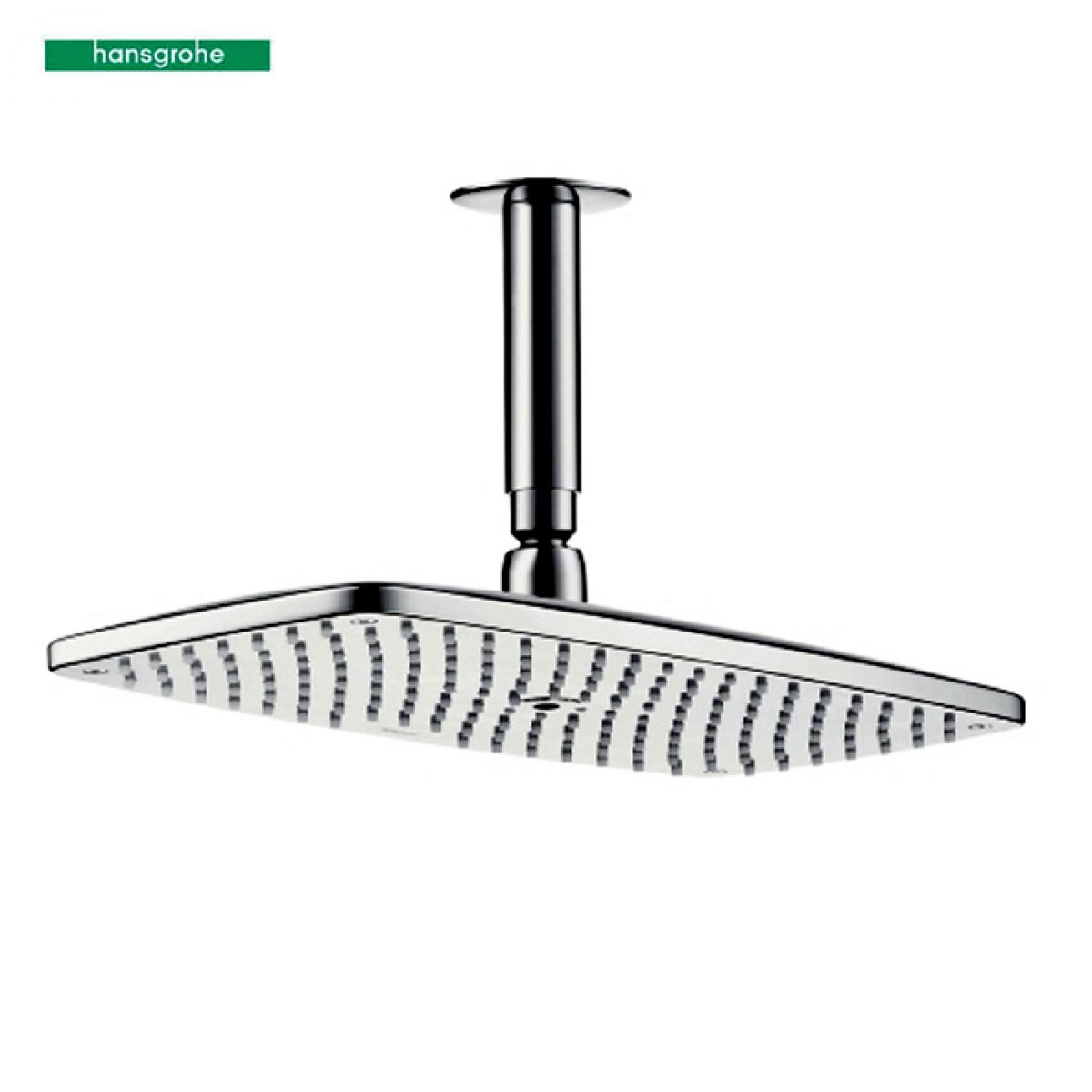 hansgrohe raindance e360 air 1jet overhead shower with. Black Bedroom Furniture Sets. Home Design Ideas
