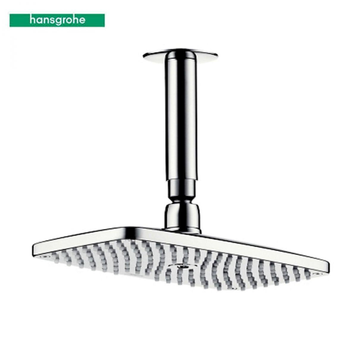 Hansgrohe Raindance E Overhead Shower with 100mm Arm : UK Bathrooms