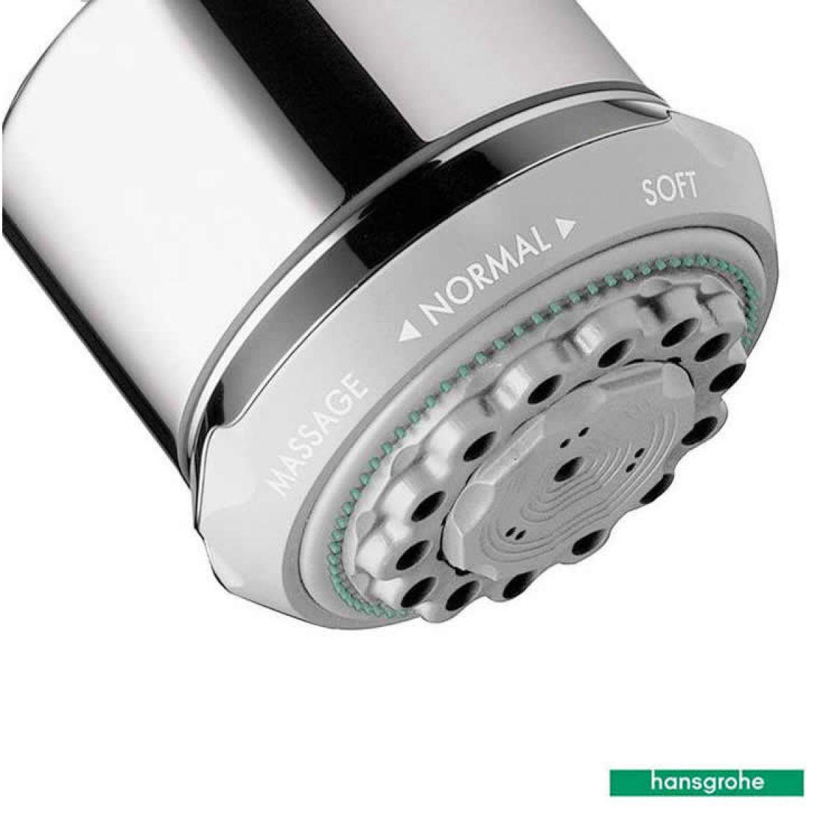 Hansgrohe Clubmaster Kiwa Shower Head - Shower Designs