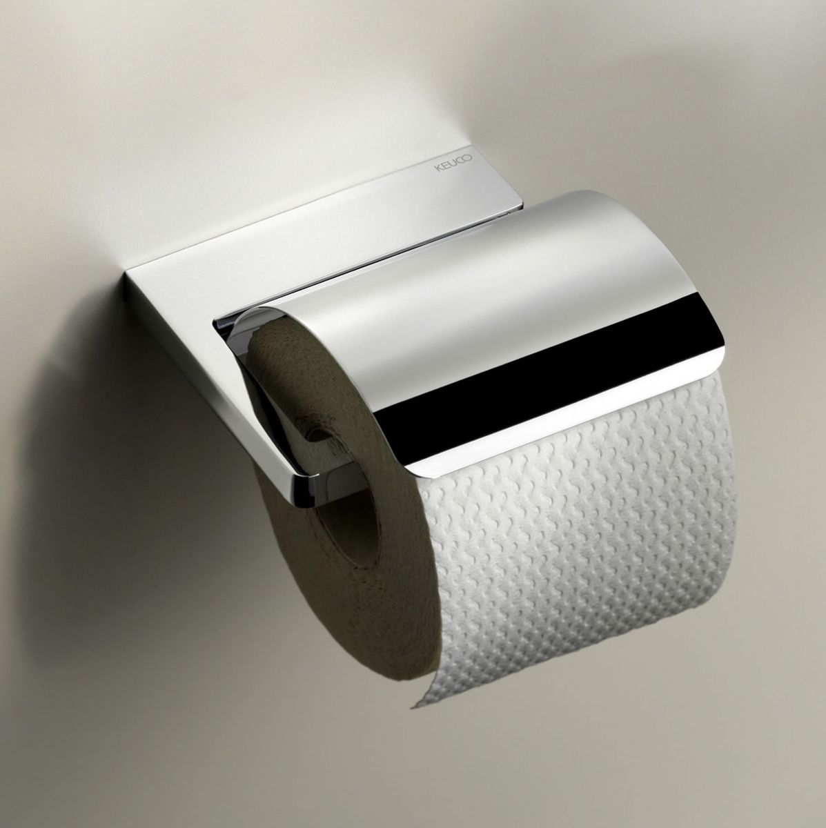 Keuco moll toilet paper holder with lid uk bathrooms for Bathroom accessories toilet roll holder
