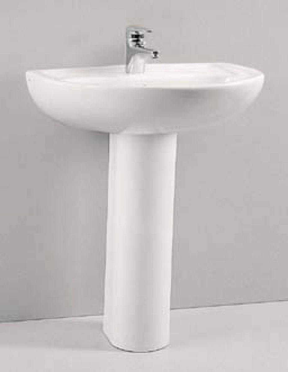 Bathroom Basin: Vitra Layton Large Bathroom Sink : UK Bathrooms