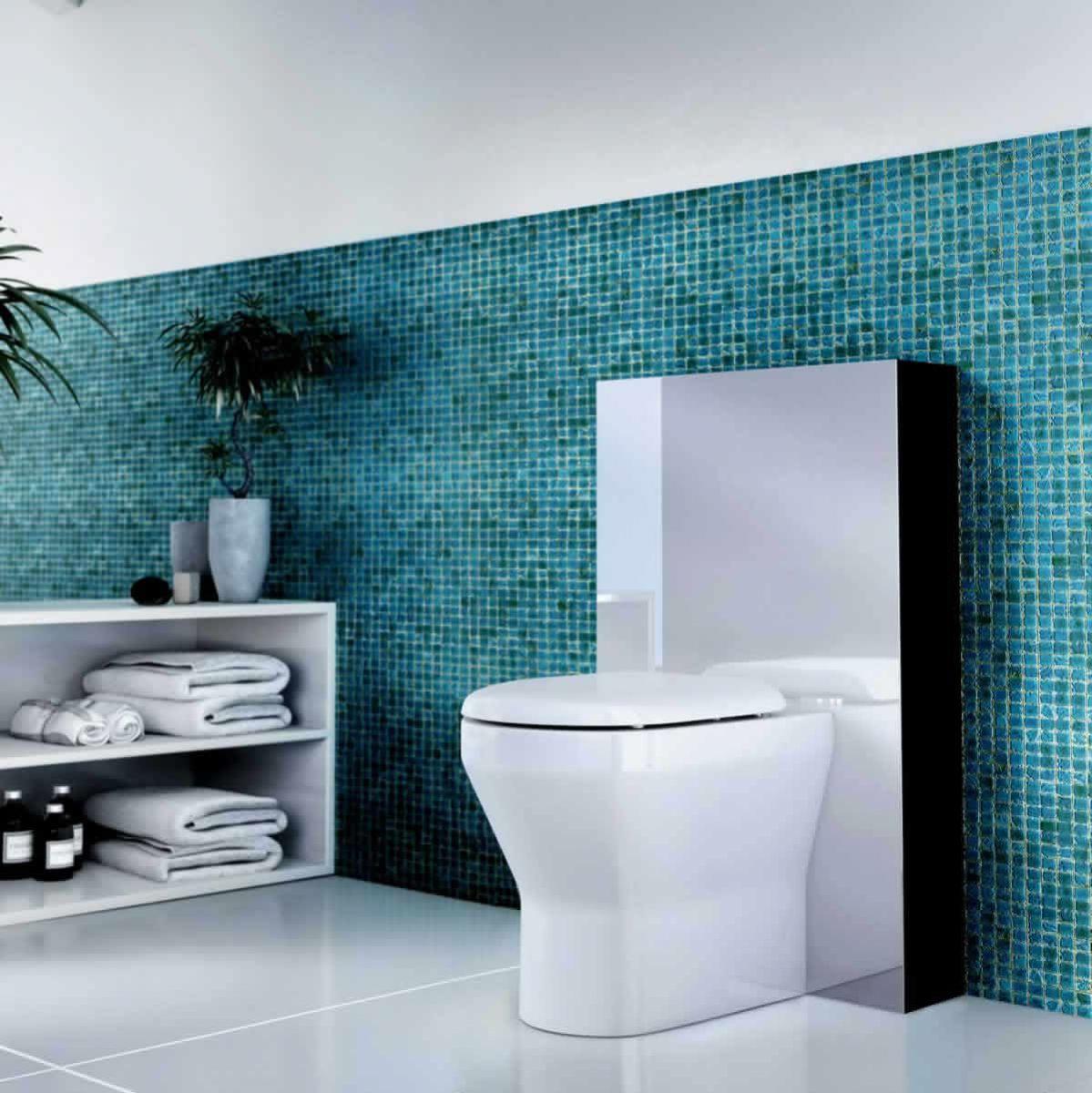 aqua cabinets back to wall tablet wc unit uk bathrooms. Black Bedroom Furniture Sets. Home Design Ideas